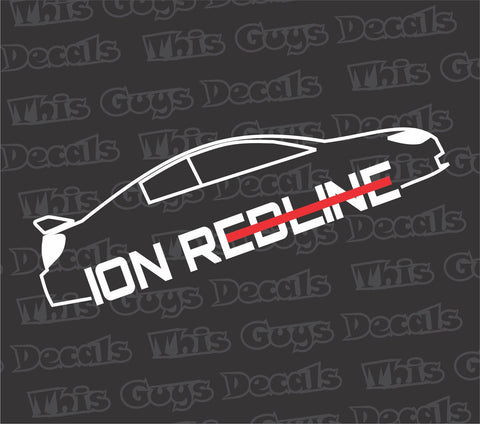 ion redline decal