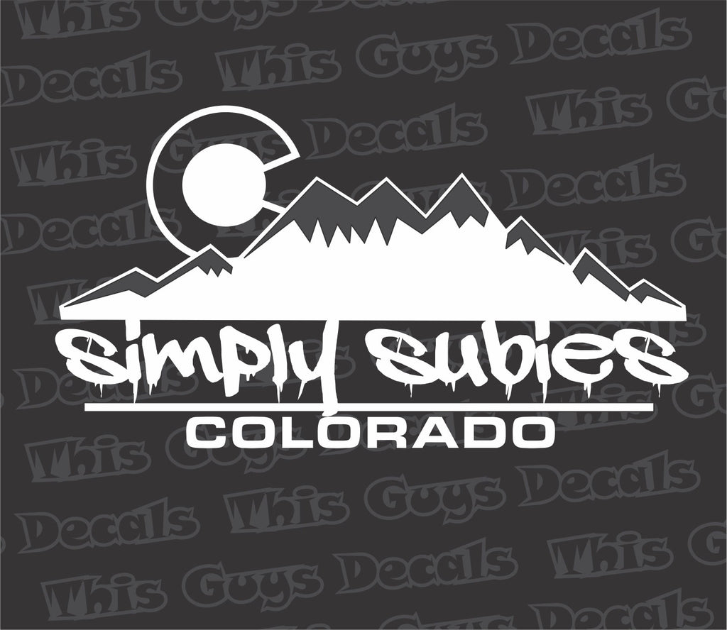 Simply subies colorado V2