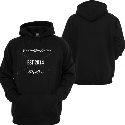 Stanced Out Nation Royal Crew Hoodie