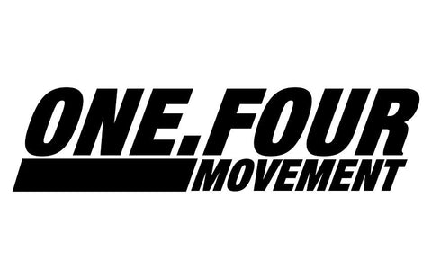 One.four Movement V3 decal