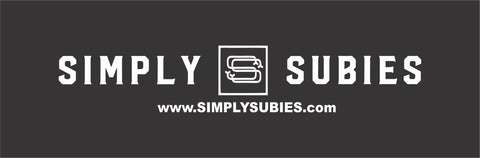 Simply Subies 2x6 foot Banner