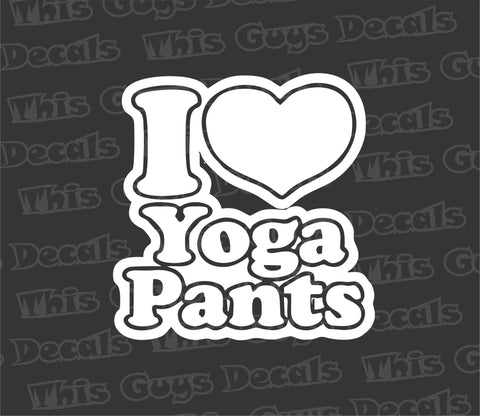 i heart yoga pants