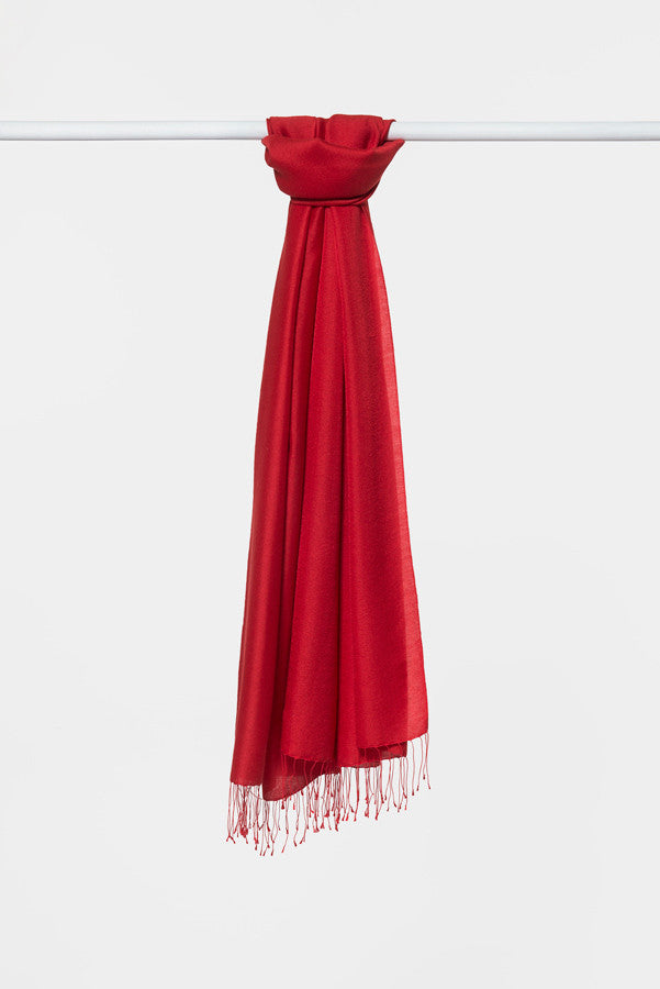 double-red-silk-scarf