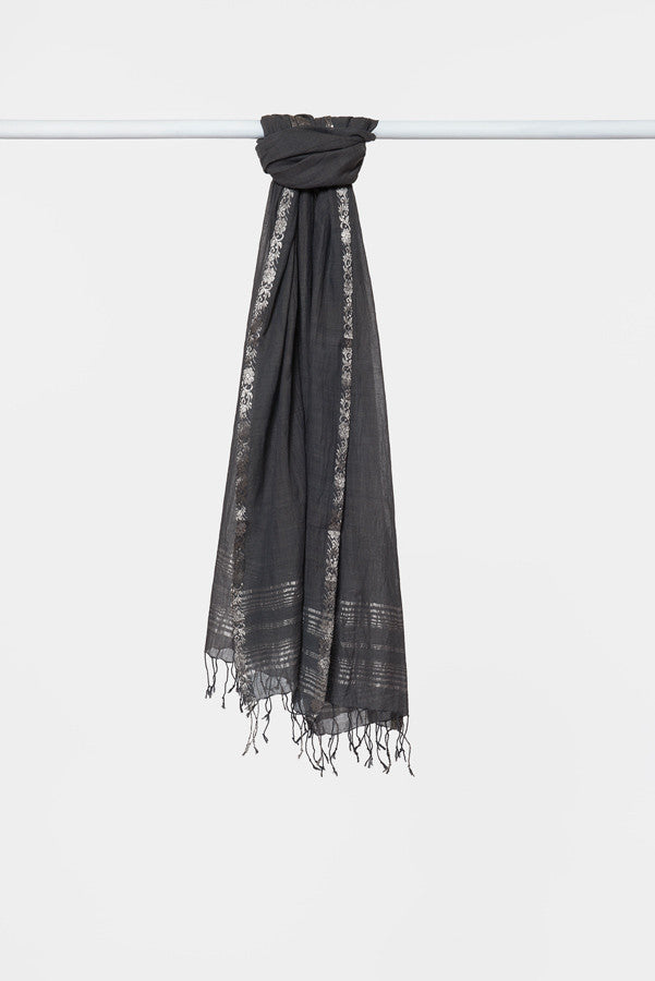 charcoal-cotton-scarf