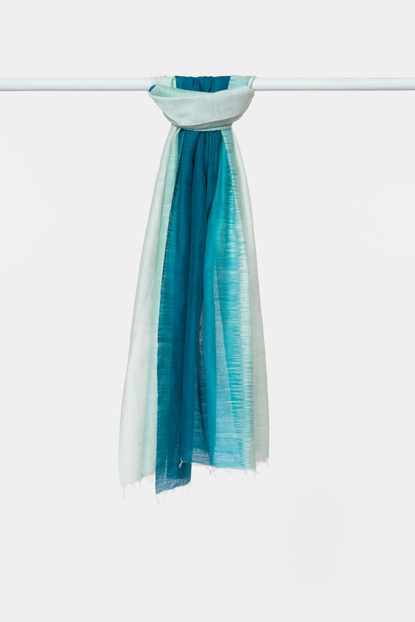 turquoise-silk-cotton-scarf
