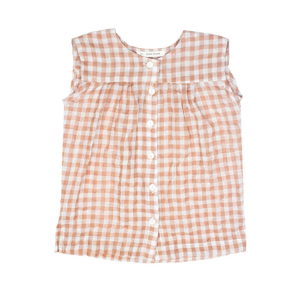 Clova Top in Gingham