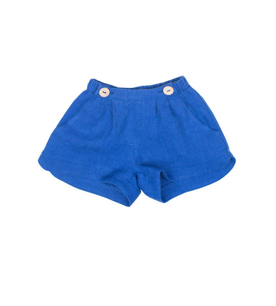 Esther Shorts in Cobalt