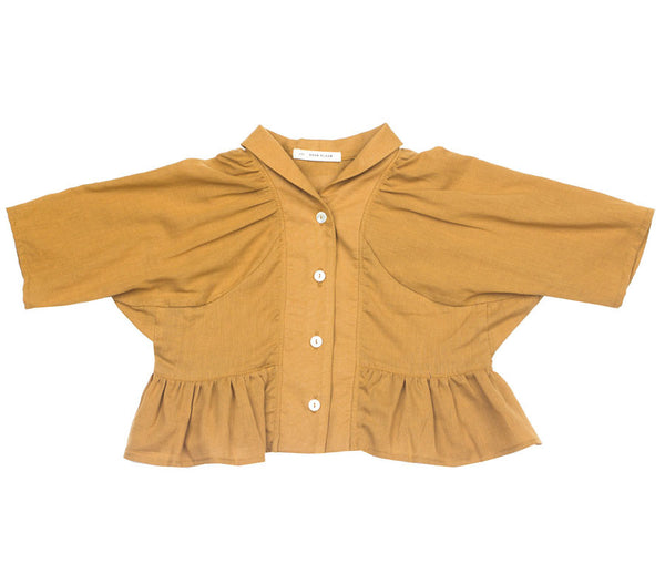 Greta Top in Ochre