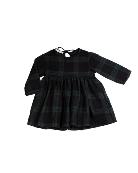Josie Dress in Black Watch Plaid
