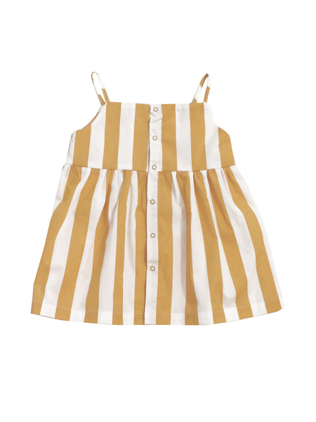 Camel Stripe Dress