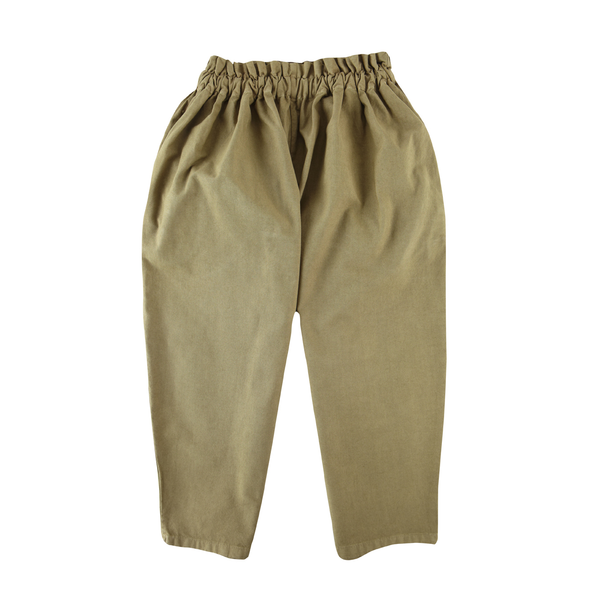 Pants with Suspenders in Olive