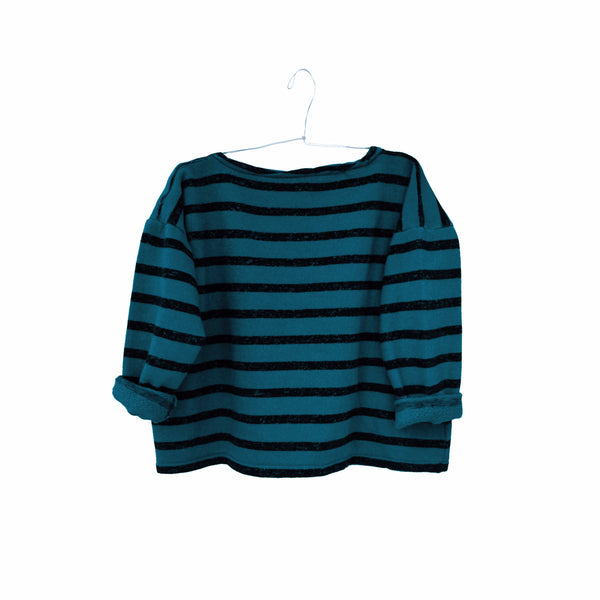 Gero Mariniere Sweater in Sea Blue