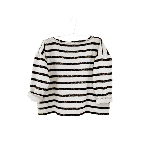 Gero Mariniere Sweater in White