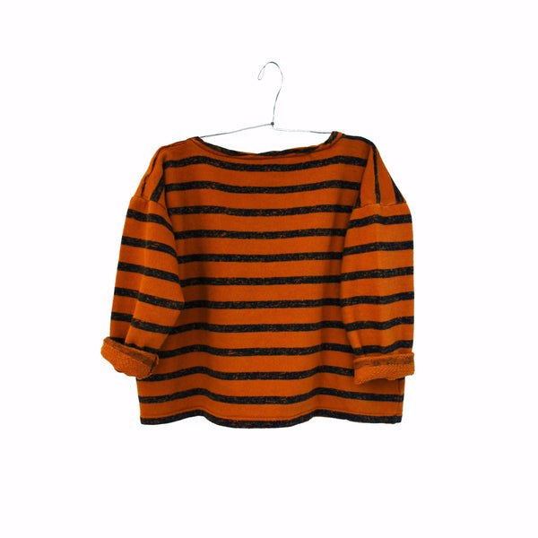 Gero Mariniere Sweater in Cinnamon Orange