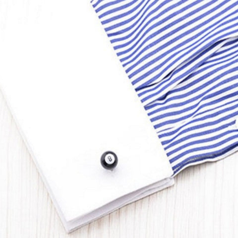 Behind The 8-Ball Cuff Links