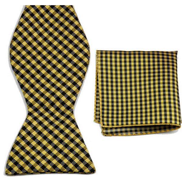 Sunshine Pockets, Bow Tie and Pocket Square Set