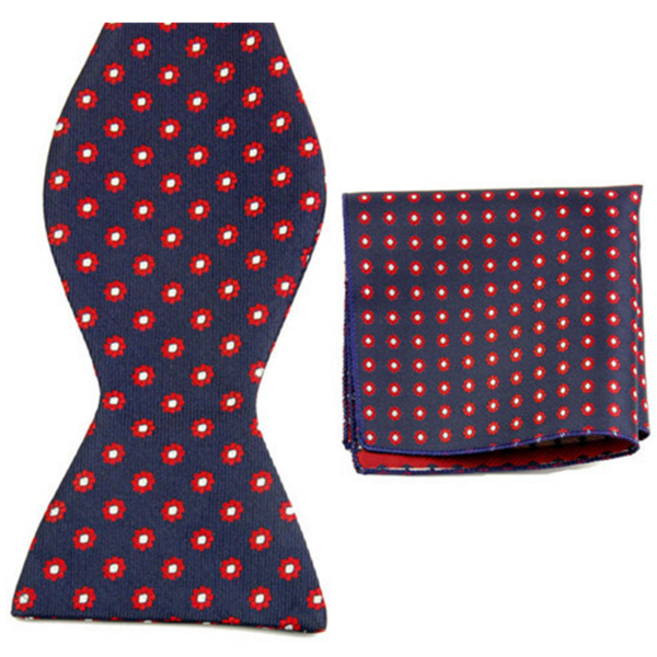 Radiate, Bow Tie and Pocket Square Set