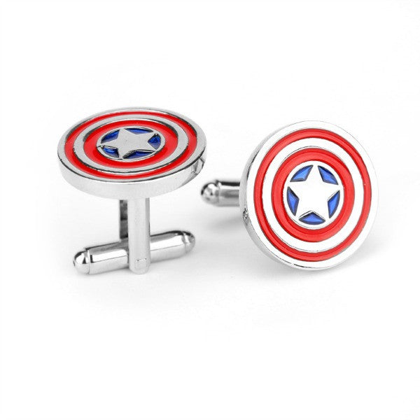 Captain America, Fan Culture Cuff Links