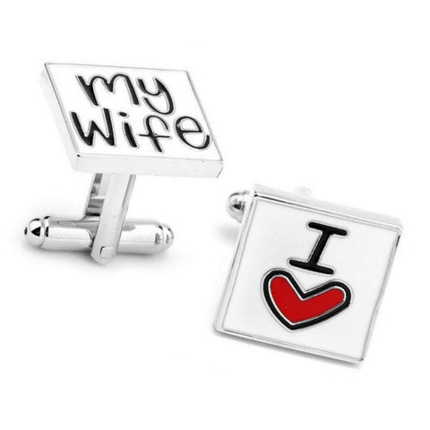 I Love My Wife, Cuff Links
