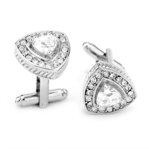 Rhinestone Triangle, Cuff Links