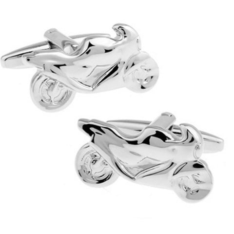 Vroom! Motorcycle Cuff Links