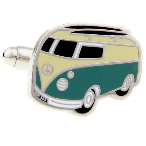 Music Festival Road Trip Cuff Links