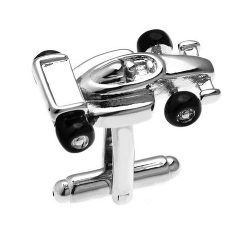 Race Car Cuff Links