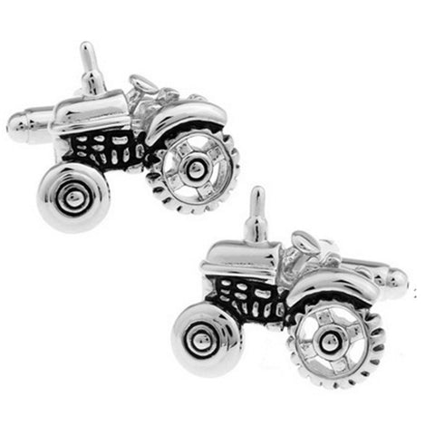 Plow The Fields, Change The World Cuff Links