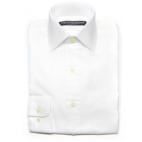 The Essential Dress Shirt in White Broadcloth