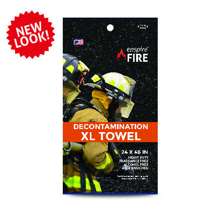"enspire® Fire Decontamination XL Towel 24"" X 48"" (Single Pack) 48 ea"