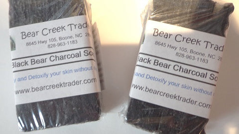 Black Bear Charcoal Soap