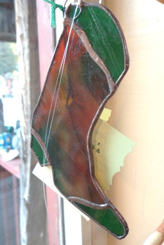 Stained Glass Cowboy Boot