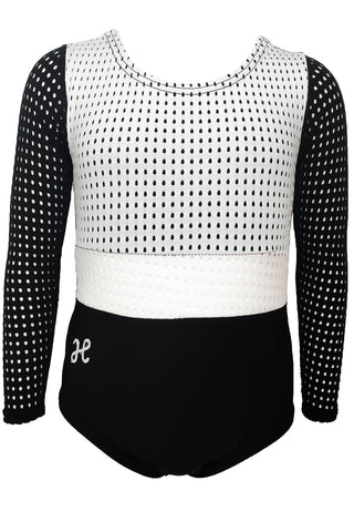 Black and White Cut Out LS Leo