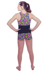Neon Animal Tank and Short Set