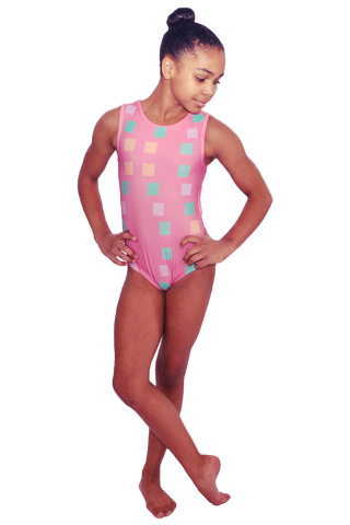 Azalea Open Back Leotard