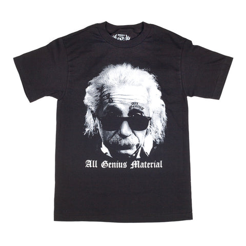Einstein T-Shirt Black