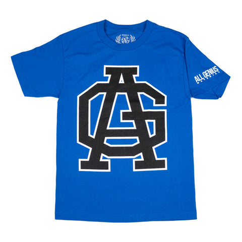 Emblem T-Shirt Royal Blue