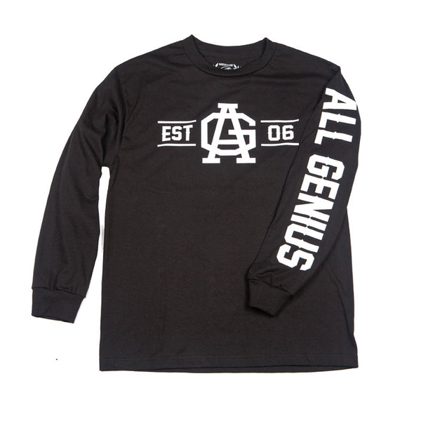 Est06 Long Sleeve Shirt Black