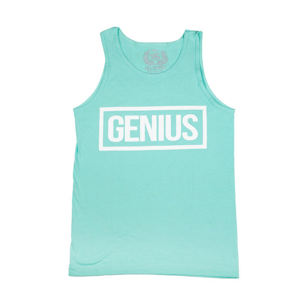 Label Tank Top Celadon