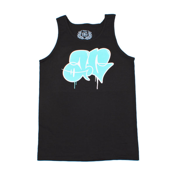 ThrowUp Tank Top Black