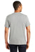 Alternative AA5050 Mens The Keeper Vintage Short Sleeve Crewneck T-Shirt Silver Grey Back