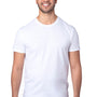 Threadfast Apparel Mens Ultimate Short Sleeve Crewneck T-Shirt - White