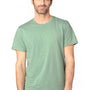 Threadfast Apparel Mens Ultimate Short Sleeve Crewneck T-Shirt - Heather Army Green