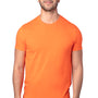 Threadfast Apparel Mens Ultimate Short Sleeve Crewneck T-Shirt - Bright Orange