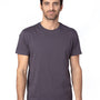 Threadfast Apparel Mens Ultimate Short Sleeve Crewneck T-Shirt - Graphite Grey