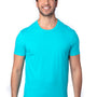Threadfast Apparel Mens Ultimate Short Sleeve Crewneck T-Shirt - Pacific Blue