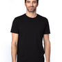 Threadfast Apparel Mens Ultimate Short Sleeve Crewneck T-Shirt - Black