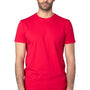 Threadfast Apparel Mens Ultimate Short Sleeve Crewneck T-Shirt - Red