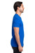 Threadfast Apparel 100A Mens Ultimate Short Sleeve Crewneck T-Shirt Royal Blue Side