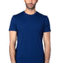 Threadfast Apparel Mens Ultimate Short Sleeve Crewneck T-Shirt - Navy Blue